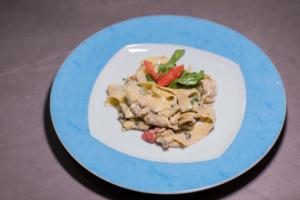 Italian Restaurant Plate