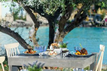 table Greek a la Carte Restaurant